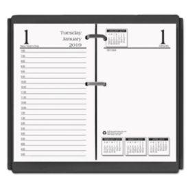 House of Doolittle™ Economy Daily Desk Calendar Refill, 3-1/2w x 6h, 2018