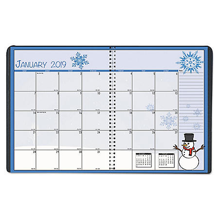 House of Doolittle Seasonal Monthly Planner, 10 x 7, 2020
