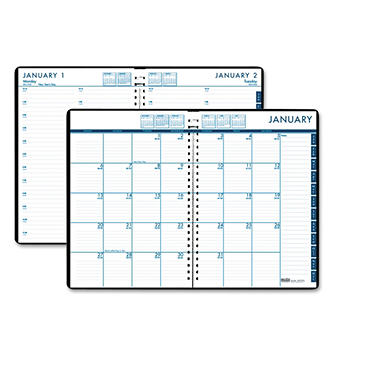 house of doolittle 24 7 daily appointment book monthly planner 7 x