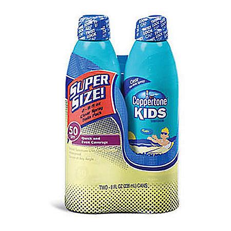 Coppertone® Kids SPF 50 Continuous Spray - 2/8oz