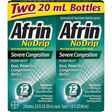 Afrin No Drip Severe Congestion - 2/20ml