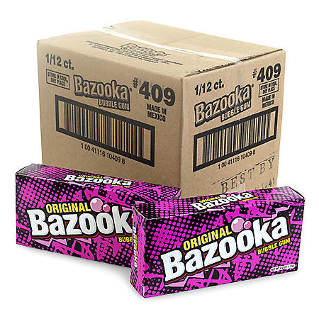 **Discontinue - Bazooka Party Box (12 ct.)