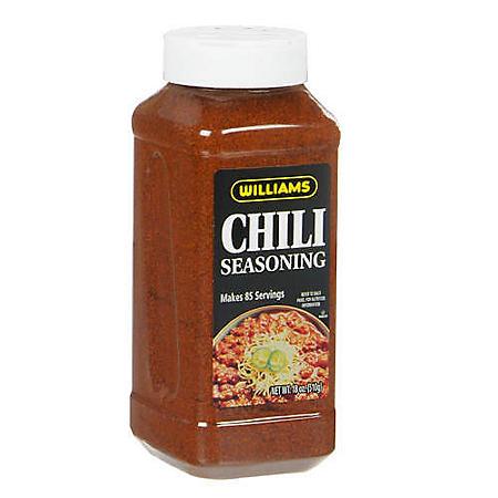 Williams Chili Seasoning - 18 oz.
