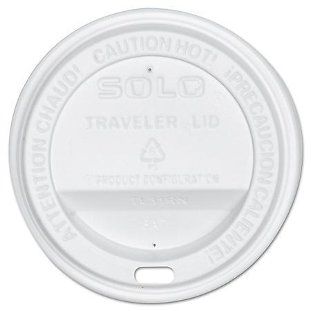Solo Sip-Through Plastic Lids, Fits 10 oz. (300 ct.)