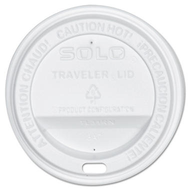 Solo Sip-Through Plastic Lids, Fits 10 oz. (300 ct.)