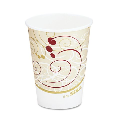 Solo Hot Paper Cups, 8 oz. (1,000 ct.)