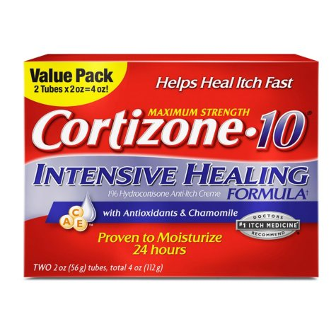 Cortizone 10 Intensive Healing Twin Pack