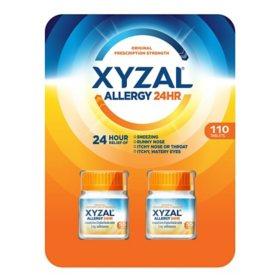Xyzal Allergy 24 Hour (110 ct.)