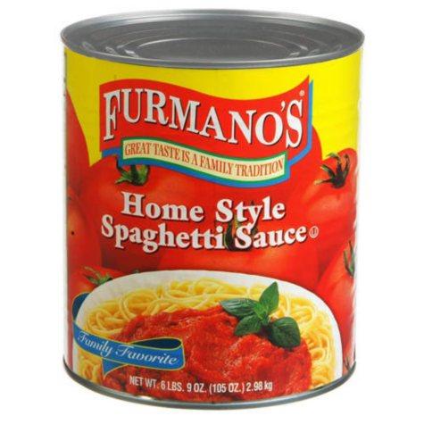 Furmano's® Home Style Spaghetti Sauce-6 lb. 9 oz.