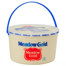 Meadow Gold Vanilla Ice Cream - 4 qt.