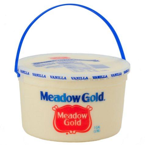 Meadow Gold Vanilla Ice Cream - 4 qt.