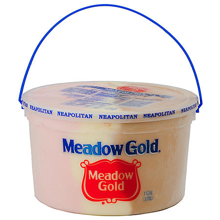 Meadow Gold Neapolitan Ice Cream Pail (1 gal.)