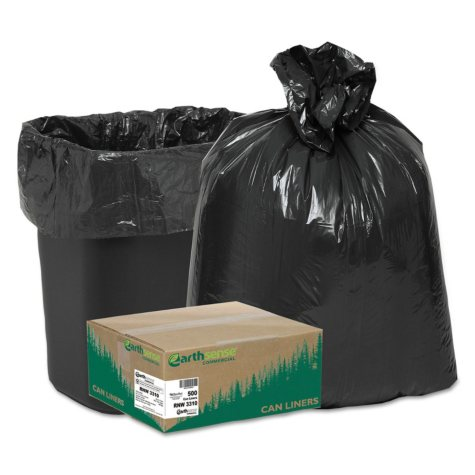 EarthSense 16 gal. Recycled Trash Bags (500 ct.)