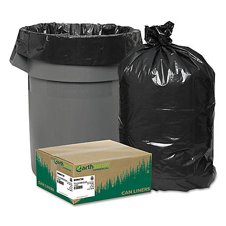 EarthSense 56 gal. Recycled Trash Bags (100 ct.)