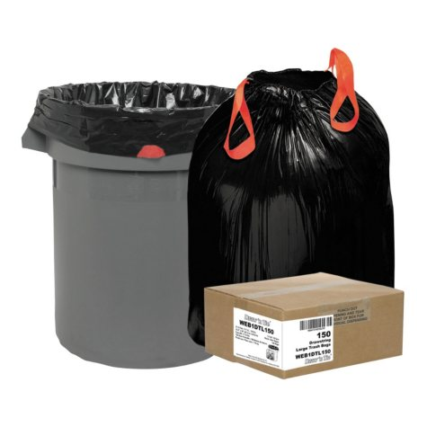 Draw 'N Tie 33 gal. Trash Bags (150 ct.)