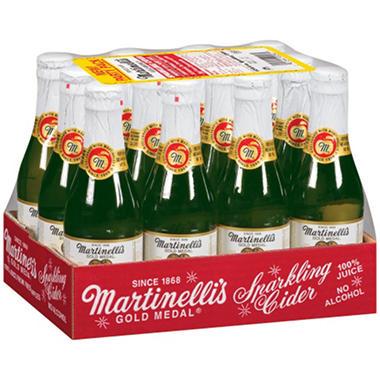 Martinelli's Sparkling Cider (250ML glass bottle, 12 pk ...
