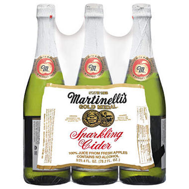 SPARKLING APPLE CIDER 3/25.4 OZ