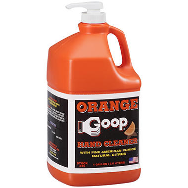 Orange Goop 174 Hand Cleaner 1 Gal Sam S Club