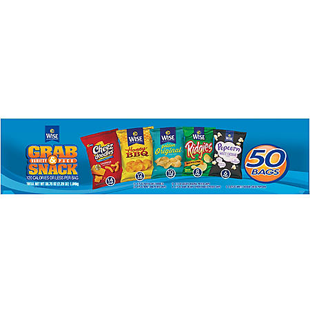 Wise Grab and Snack Variety Pack (50 ct.)