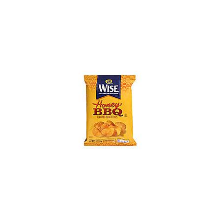 Wise Honey BBQ Potato Chips .75oz bags (50 ct.)