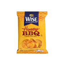 Wise Honey BBQ Potato Chips .75oz bags (50 ct.)
