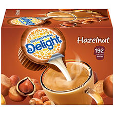 International Delight Hazelnut Coffee Creamer Singles (192 ct.)