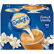 International Delight French Vanilla Creamer - 192 ct.