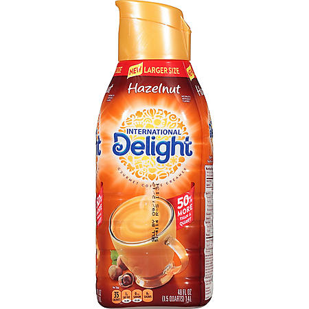 International Delight Hazelnut Coffee Creamer (48 fl. oz ...