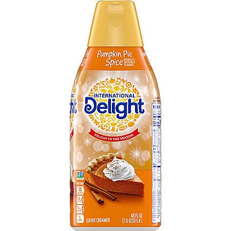 International Delight Coffee Creamer, Pumpkin Pie Spice (48 fl. oz.)