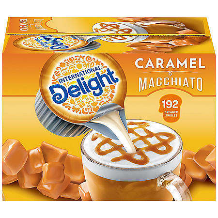 International Delight Caramel Macchiato Coffee Creamer Singles (192 ct.)