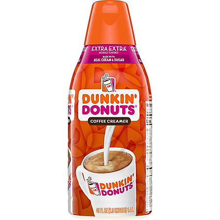 Dunkin' Donuts Extra Extra Coffee Creamer (48 oz.)