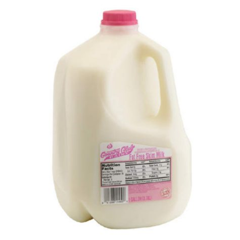 Country Club Dairy Fat Free Skim Milk  (1 gal.)