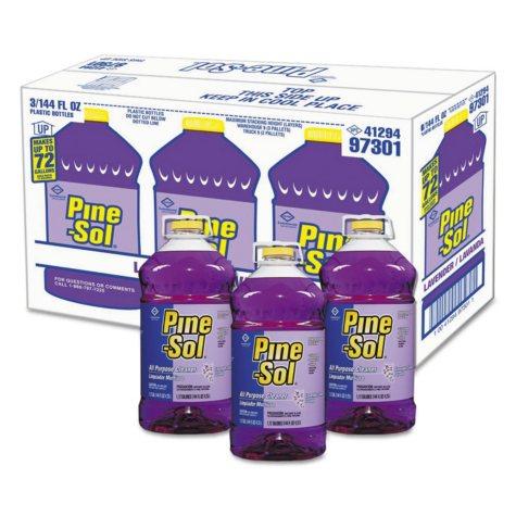 Pine-Sol All-Purpose Cleaner, Lavender Clean (144 oz., 3 pk.)