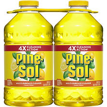 Pine-Sol Multi-Surface Cleaner, Lemon Fresh, (100 oz. bottles, 2 pk.)