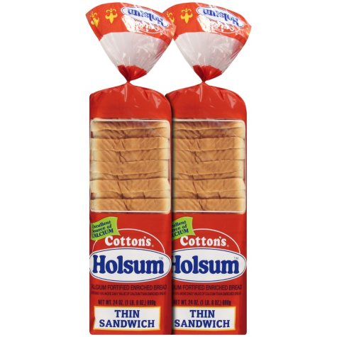 Cotton's® Holsum™ Thin Sandwich Bread - 24 oz. - 2 ct.