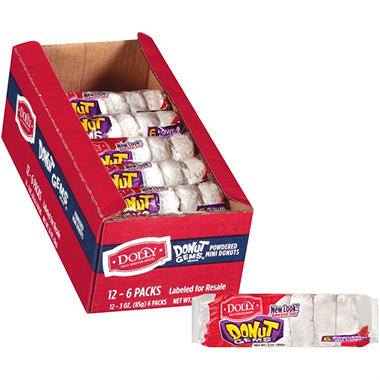 Dolly Madison® Powdered Donuts - 12 pk.