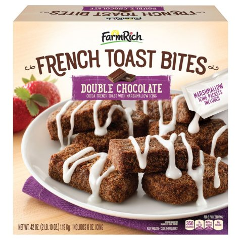 Farm Rich Double Chocolate French Toast Bites (42 oz.)