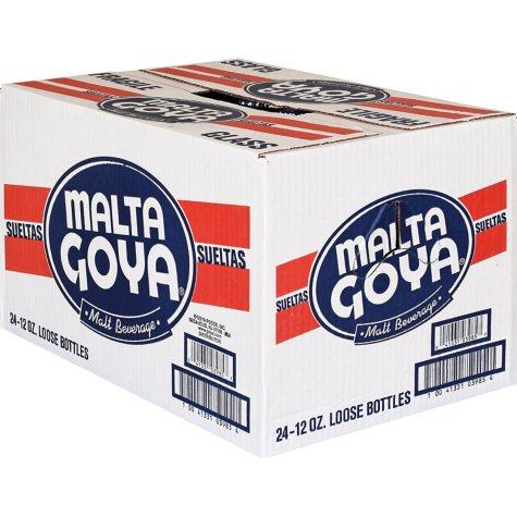 Goya Malta Beverage (12 oz. bottles, 24 ct.)