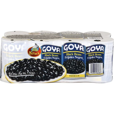 Goya Black Beans (15.5 oz., 8 ct.)