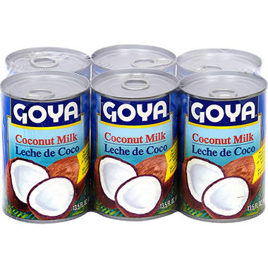 Goya Coconut Milk (13.5 oz. ea., 6 pk.)