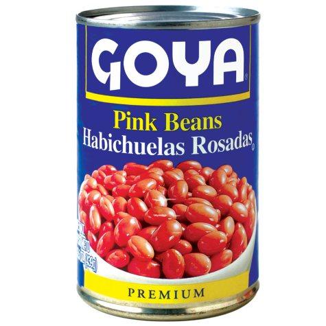 Goya Pink Beans - 15.5 oz. - 6 pk.