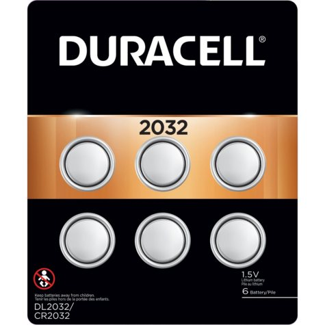 Duracell 2032 Watch Batteries (6 Pk.)