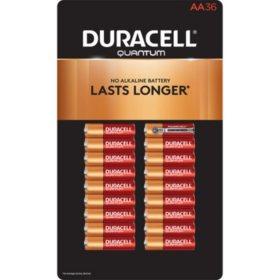 Duracell Quantum Alkaline AA Batteries (36 pk.)