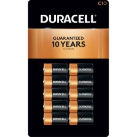 Duracell Coppertop Alkaline C Batteries (10 Pk.)