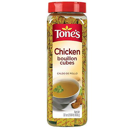 Tone's Chicken Bouillon Cubes (32 oz.)