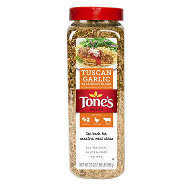 Tone's Tuscan Garlic Seasoning Blend (27 oz.)