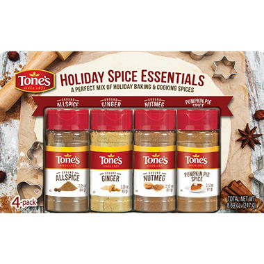 Tone's Holiday Spice Essentials Variety Pack