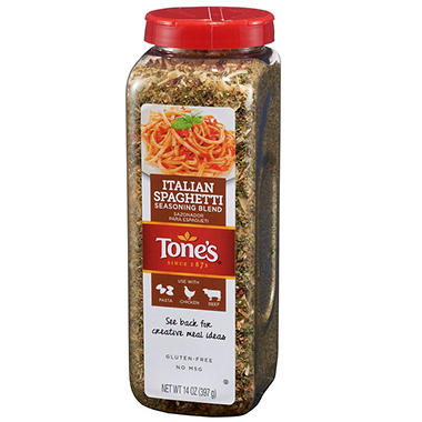 Tone's Italian Spaghetti Seasoning Blend (14 oz.)
