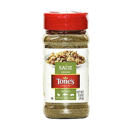Tone's Ground Sage (2.6 oz.)