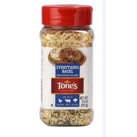Tone's Everything Bagel Seasoning (7.5 oz.)